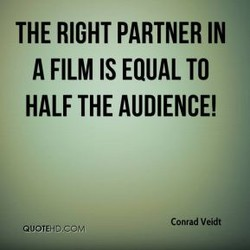 THE RIGHT PARTNER IN 