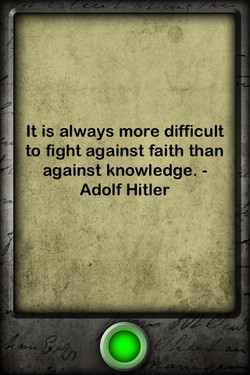It is always more difficult 