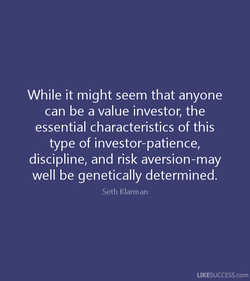 While it might seem that anyone 