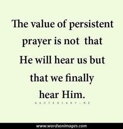 The value of persistent 