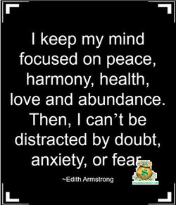 I keep my mind 