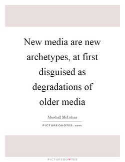 New media are new 