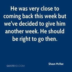 He was very close to 