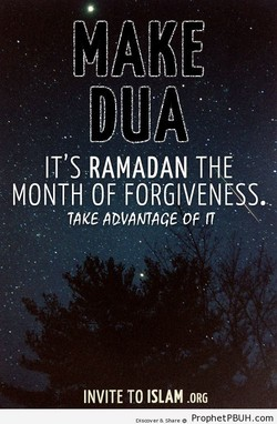 IT'S RAMADAN THE 