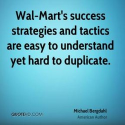 Wal-Mart's success 