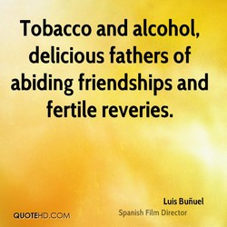 Tobacco and alcohol, 