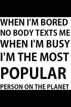 WHEN I'M BORED 