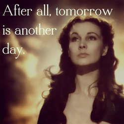 After all, tomorrow 