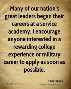 many of our nation's 