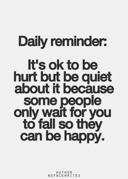 Daily reminder: 