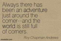 Always there has 