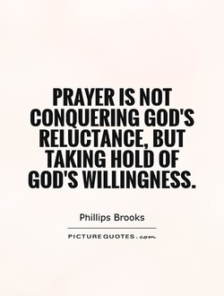 PRAYER IS NOT 