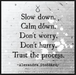 Slow down. , 
