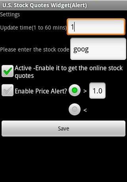 Settings 