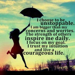 I choose to be 