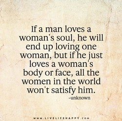 If a man loves a 