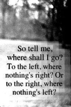 So tell me, 