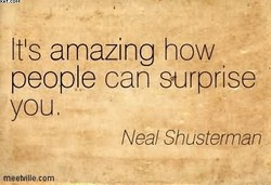 It's amazing how 