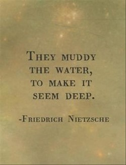 THEY MUDDY 