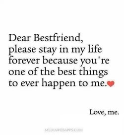 Dear Bestfriend, 