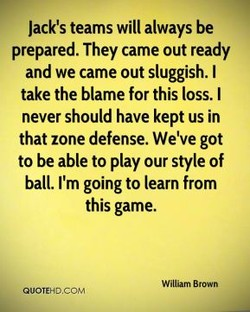 Jack's teams will always be 
