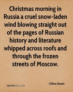 Christmas morning in 