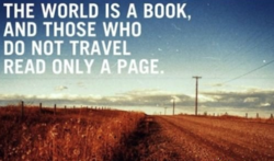 THE WORLD IS A BOOK, 