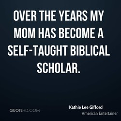 OVER THE YEARS MY 