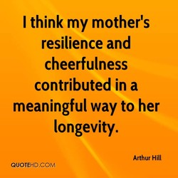I think my mother's 