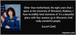 Other than motherhood, the eight years that I 