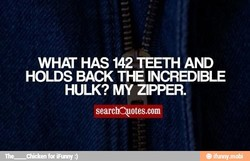 WHAT HAS 142 TEETH AND 