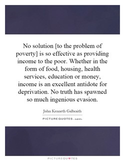 No solution [to the problem of 