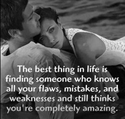 The best thing in life is 