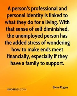 A person's professional and 