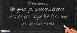 Sometimes, 