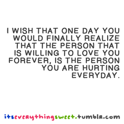 I WISH THAT ONE DAY YOU 