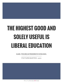 THE HIGHEST GOOD AND 