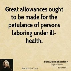 Great allowances ought 