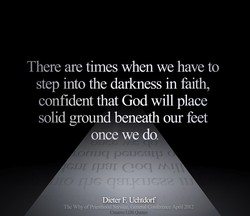 There are times when we have to 