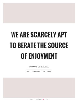 WE ARE SCARCELY APT 