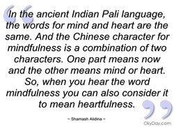 n t e ancient Indian Pali language, 