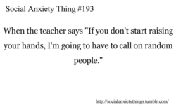 Social Anxiety Thing #193 