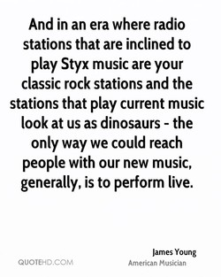 And in an era where radio 