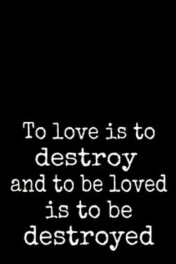 To love is to 
