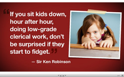 If you sit kids down, 