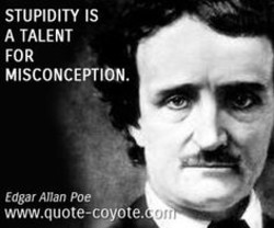 STUPIDITY IS 