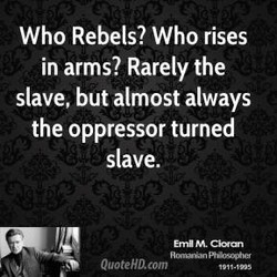 Who Rebels? Who rises 