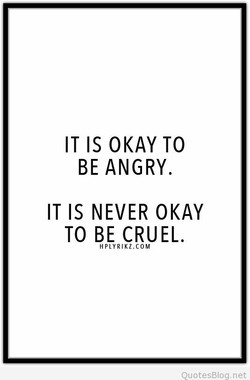 IT IS OKAY TO 