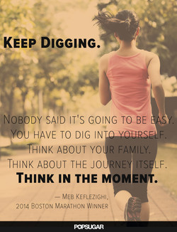 KEEP DIGGING. 