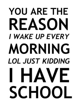 YOU ARE THE 